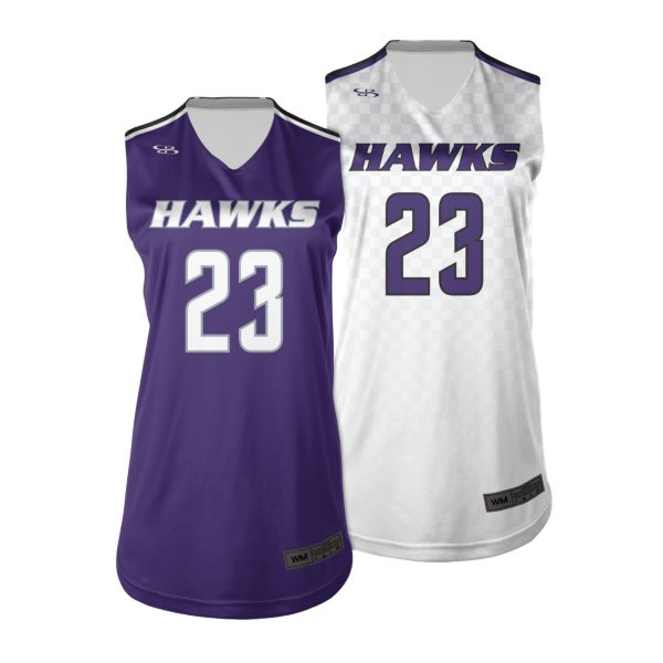 Women's Custom Basketball Reversible Jersey