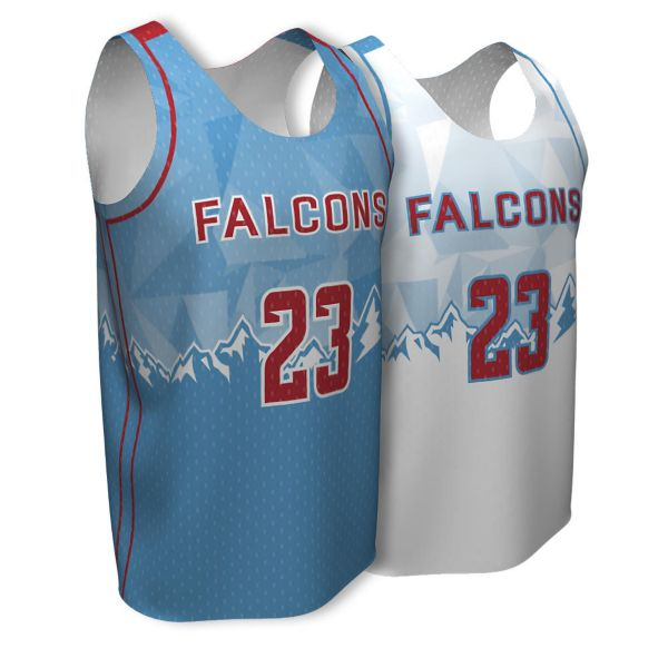 Full Dye, Youth Reversible Basketball Sleeveless Practice Uniform (FD-217)