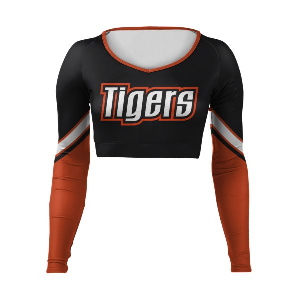 Girls' Custom Cheer V-Neck Bodyliner
