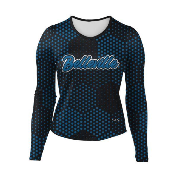 Women's Custom Cheer Long Sleeve Shell