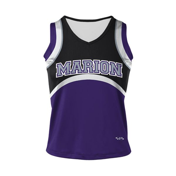 Girls' Full Dye, Cheer Sleeveless Shell (FD-2040W)