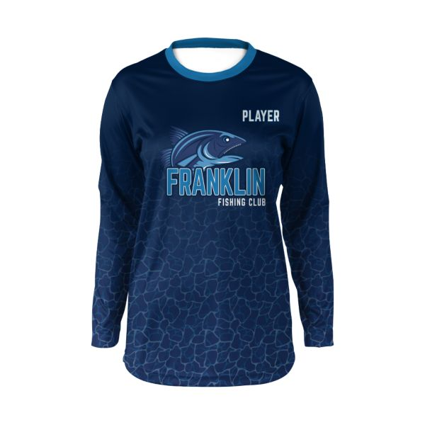 Custom Women's Long Sleeve Fishing Jersey
