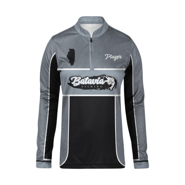 Full Dye, Long Sleeve Cadet Zip Jersey (FD-3117W)