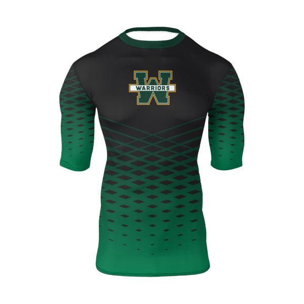 Men's Custom Ultra Performance Half Sleeve Compression