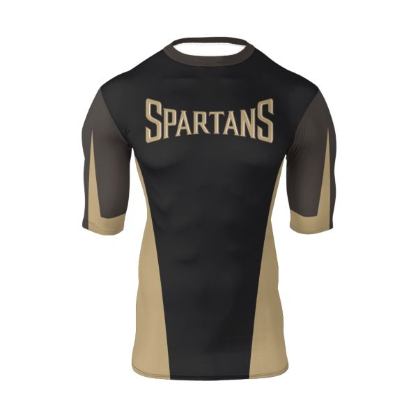 Youth Custom Ultra Performance Half Sleeve Compression