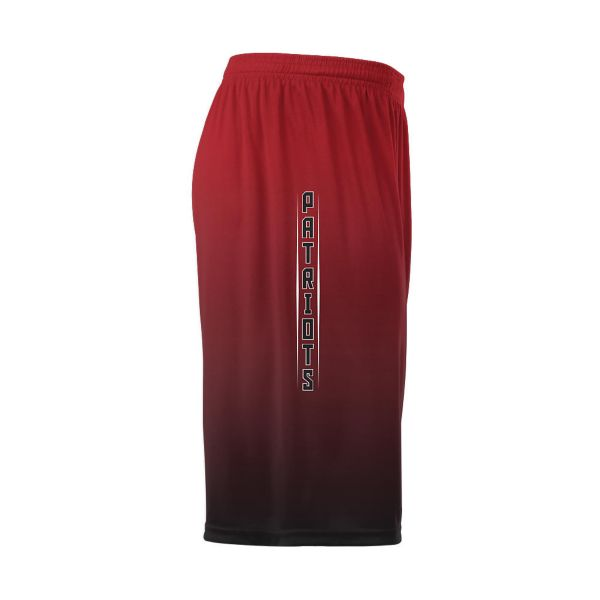 Full Dye, Football 2-Panel Training Shorts (FD-4017)