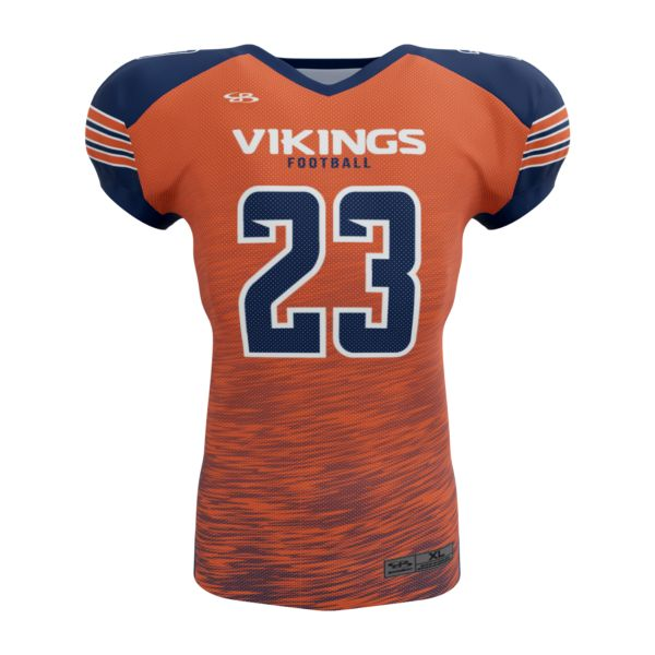 Full Dye, Youth Football Raglan Short Sleeve Uniform Top (FD-5422)