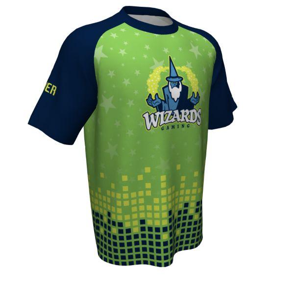 Custom Youth Esports Short Sleeve Jersey