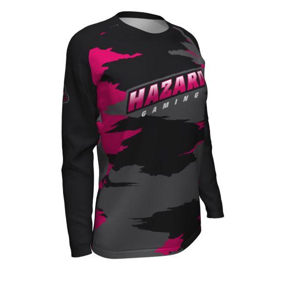 Custom Women's Esports Long Sleeve Jersey