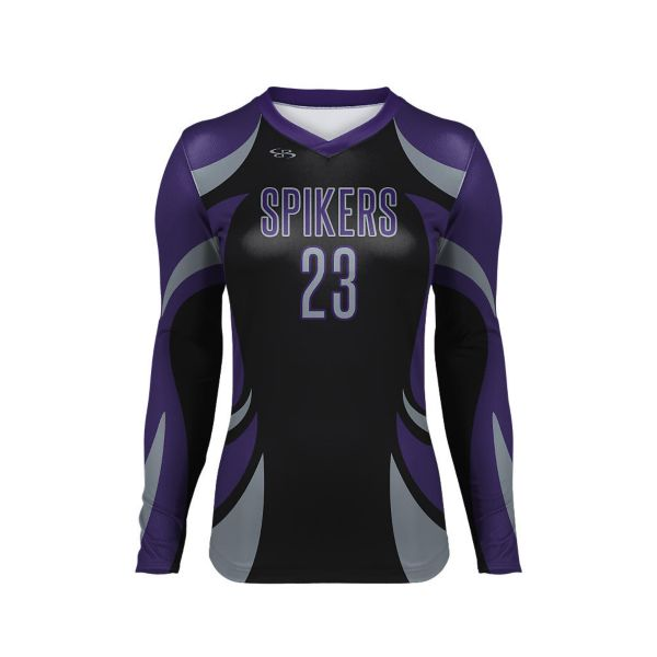 Full Dye, Volleyball Long Sleeve Uniform Top