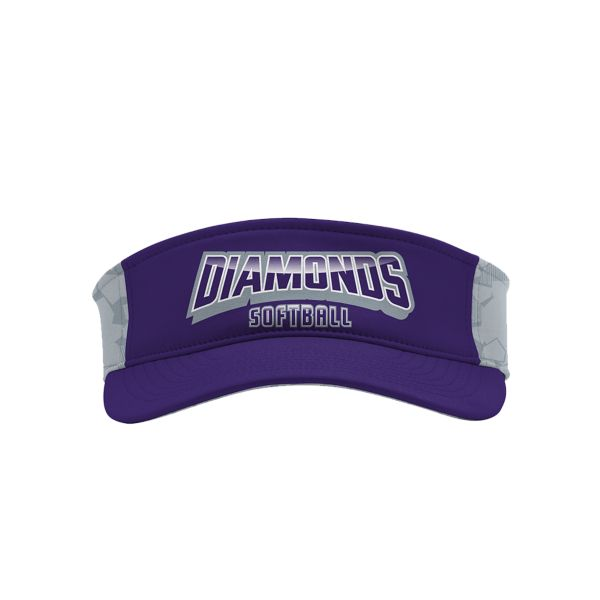 Custom Elite Series Sublimated Performance Visor