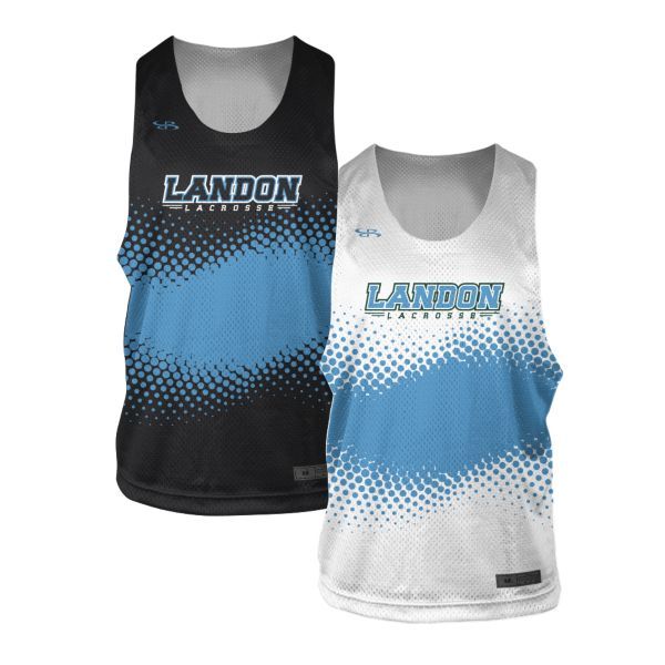 Custom Youth 2-Ply Reversible Lacrosse Pinnie