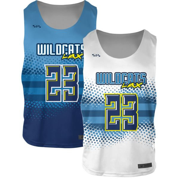 Custom Youth 2-Ply Reversible Practice Lacrosse Jerseys