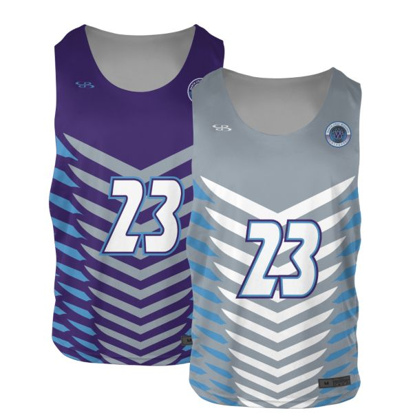 Custom Men's 2-Ply Reversible Practice Lacrosse Jerseys