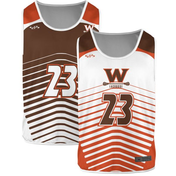 Custom Men's Reversible Lacrosse Pinnies
