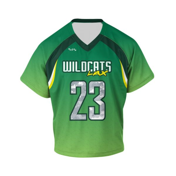 Custom Youth Raglan Short Sleeve Lacrosse Jerseys