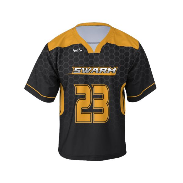 Custom Youth Short Sleeve Lacrosse Jerseys