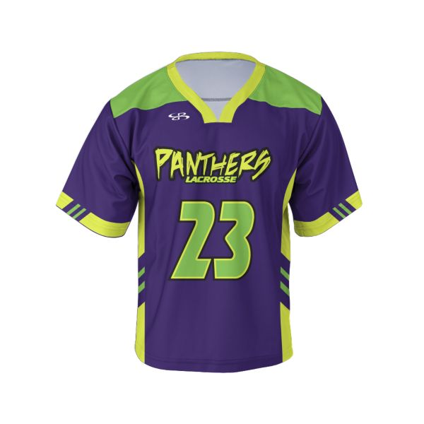 Custom Men's Short Sleeve Lacrosse Jerseys