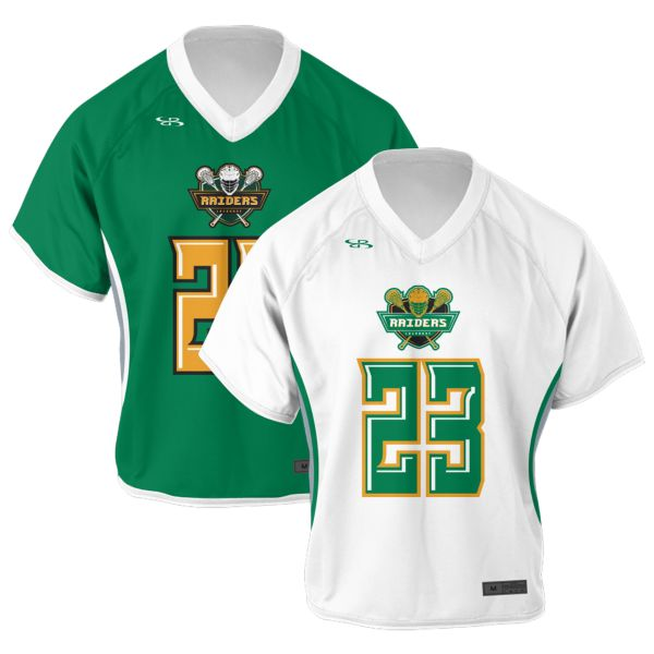 Custom Men's Reversible Short Sleeve Lacrosse Jerseys