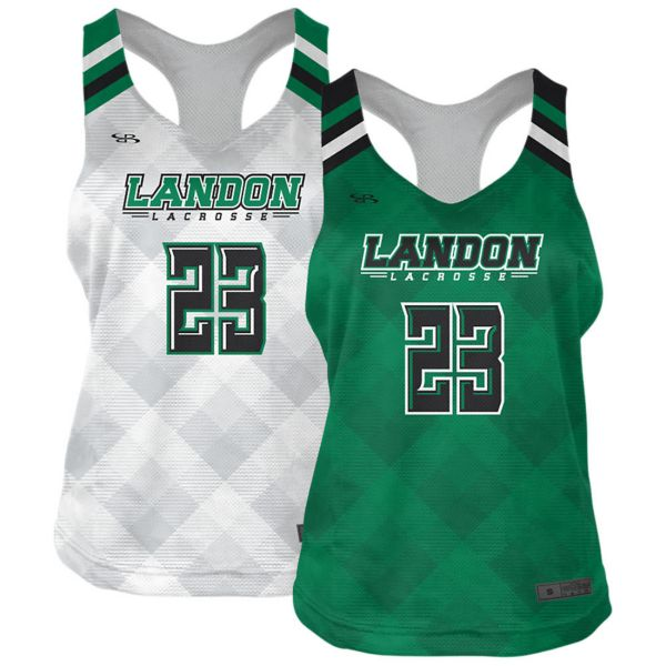 Full Dye, Womens Lacrosse 2-Ply Reversible  Pinnie  (FD-3019)