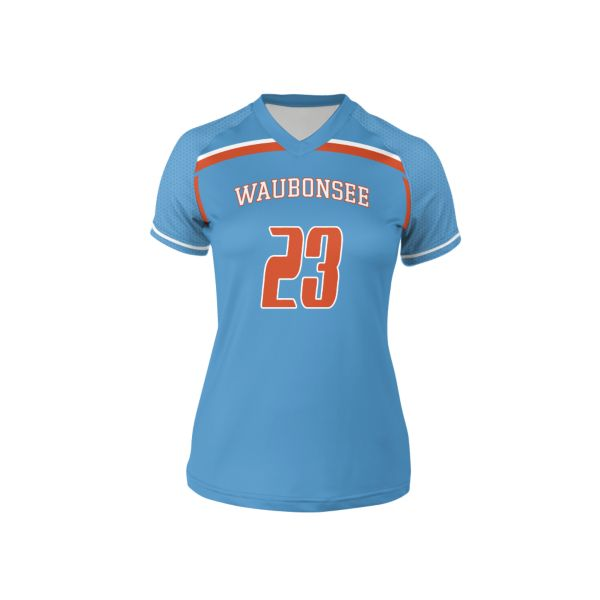 Custom Women's Short Sleeve Lacrosse Jerseys