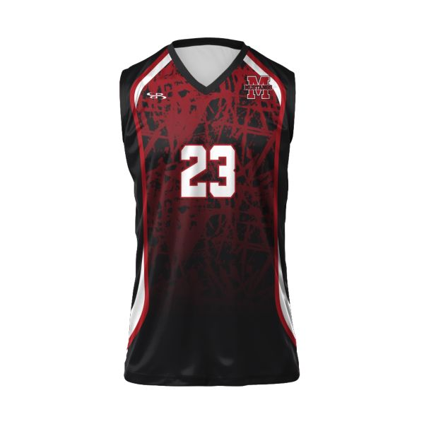 Custom Boys' Sleeveless Volleyball Jersey