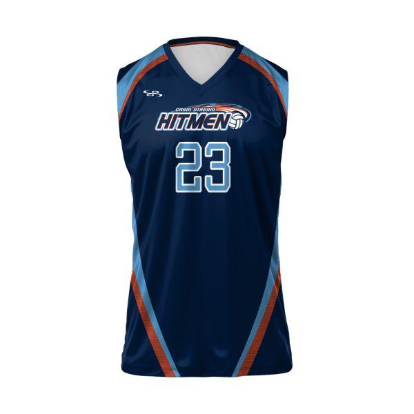 Custom Men's Sleeveless Volleyball Jersey