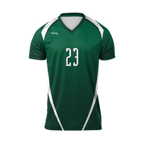 Custom Men's Short Sleeve Volleyball Jersey