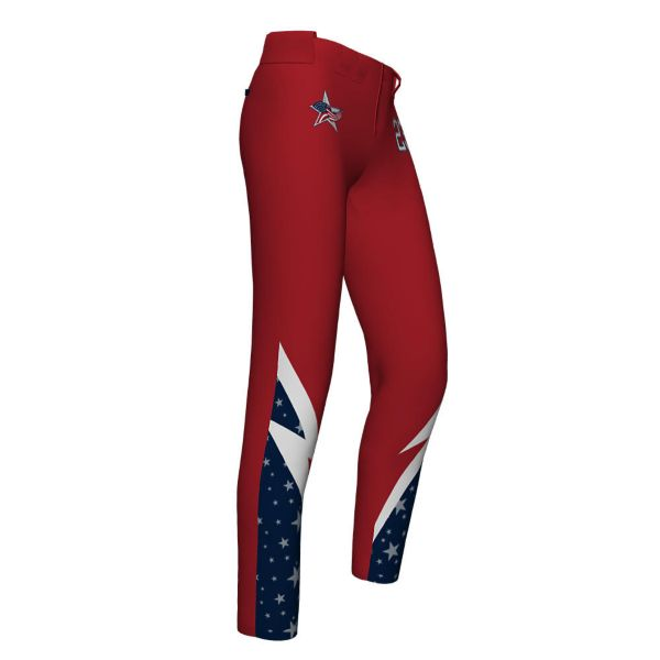 Girl's Custom FD Full Length Fastpitch Pant (FD-5070G)