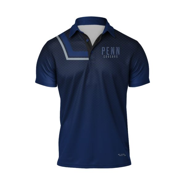 Men's Custom Aerial Semi-Fitted Polo