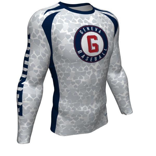 Custom Youth Ultra Performance Long Sleeve Compression