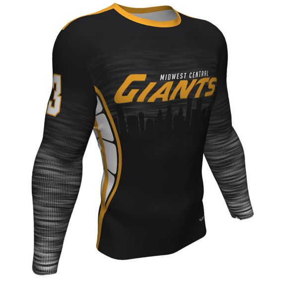 Men's Custom Full Dye Long Sleeve Compression Shirt (FD-420W)