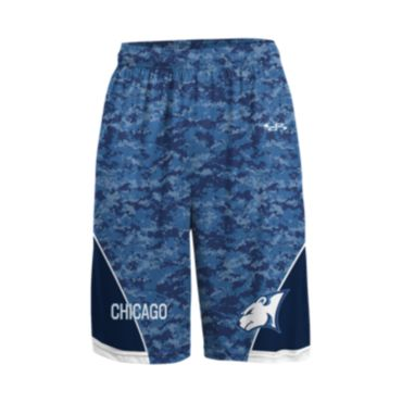 Custom Sublimated Advanced Basketball Shorts (Pockets) 1004