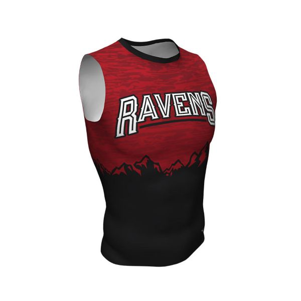 Men's Custom Full Dye Sleeveless Compression Tee (FD-415)