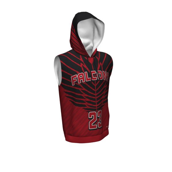Custom Youth Sleeveless Premier Hoodie