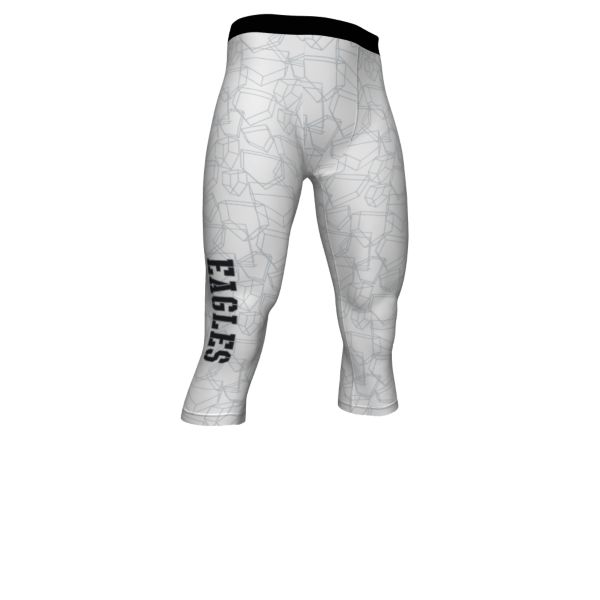 Custom Men's 3/4 Compression Tights