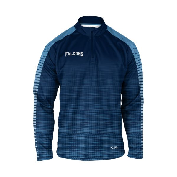 Men's Custom Verge Quarter Zip Pullover