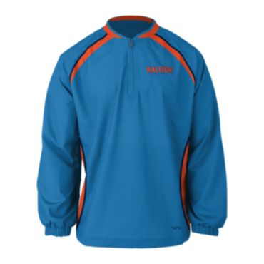 Custom Sublimated Prime Tech Woven 1/4 Zip LS Pullover 1008