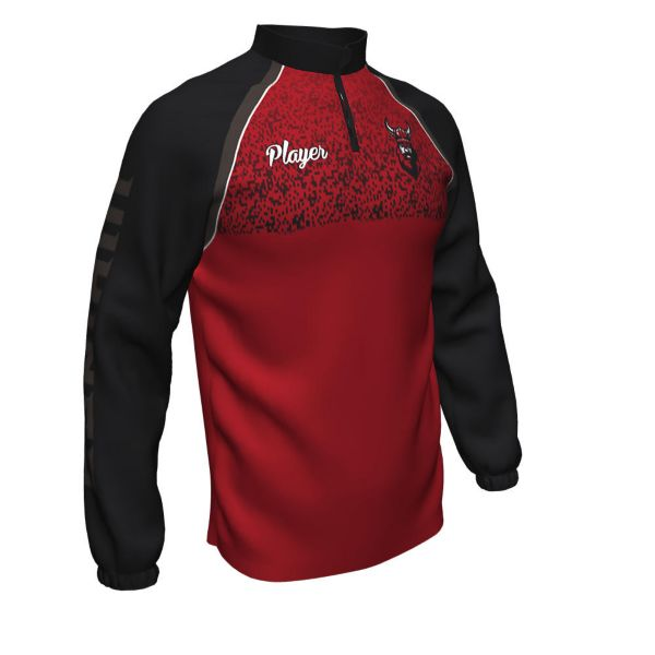 Men's Custom Full Dye Woven Long Sleeve Pullover (FD-6003)