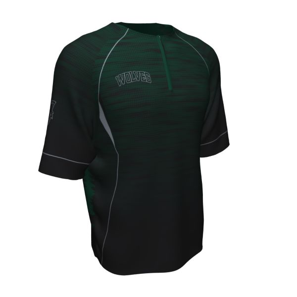 Custom Men's Prime Flex Tech Short Sleeve Quarter Zip Pullover