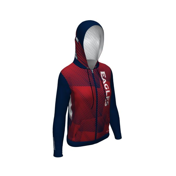 Custom Women's Full Zip Supreme Tech Fleece Hoodie