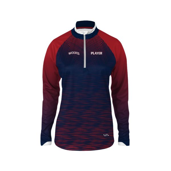 Custom Women's Premier Quarter Zip Pullover