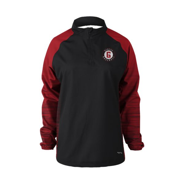 Women's Custom Prime Tech Woven Quarter Zip Pullover