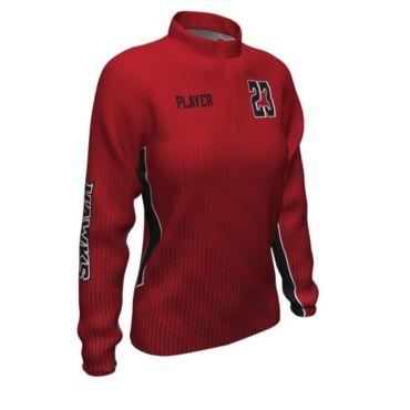 Women's Custom Full Dye Stretch Woven Pullover
