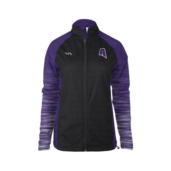Custom Women's Verge Warm-Up Full-Zip Jacket