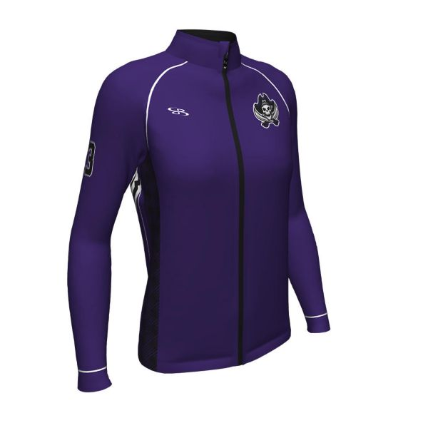 Women's Custom Full Dye Verge Warm Up