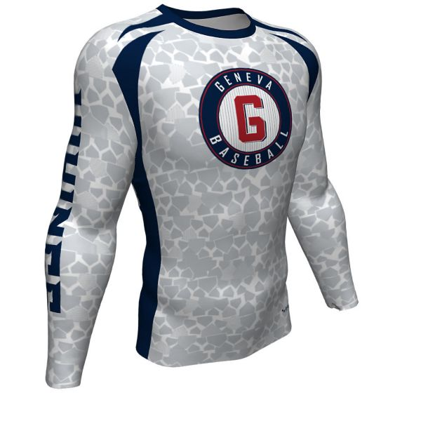 Youth Custom Ultra Performance Long Sleeve Compression