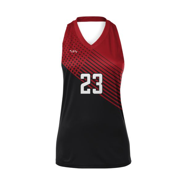 Custom Girls' Racerback Volleyball Jersey