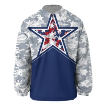 Men's Brave USA Ink Long Sleeve Pullover