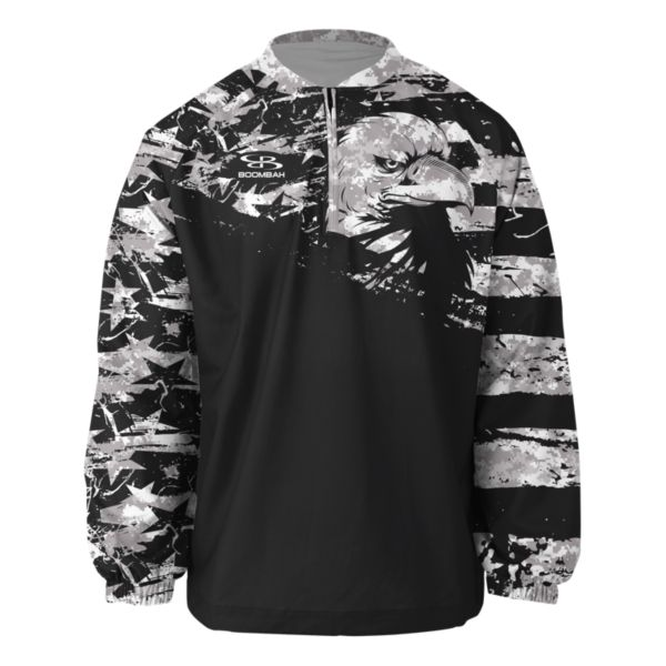 Men's Honor USA Ink Long Sleeve Pullover